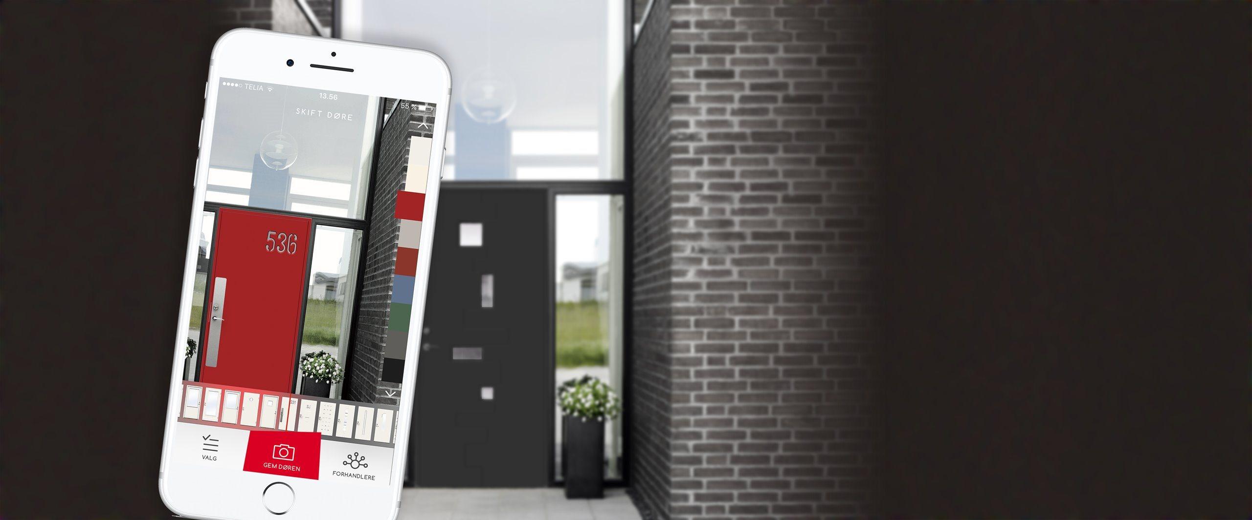Picture of: Indret Boligen Med Din Smartphone Swedoor